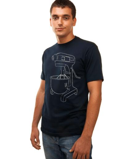 high 5 pie mixer tshirt