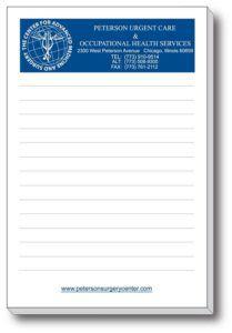 """4"""" x 6"""" 50-Sheet Notepads"""
