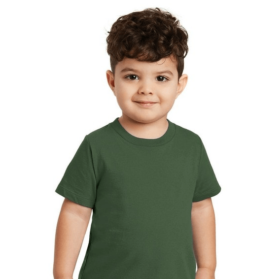 Custom Screen Printed Corporate Logo T-Shirts Seattle: Port & Company Short Sleeve Children's