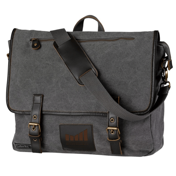 Custom Designed Branded Corporate Logo Messenger Bags in Seattle ... e44527fc245d0