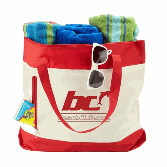 Custom Promotional Cotton Canvas Tote Bag Seattle Shoreline