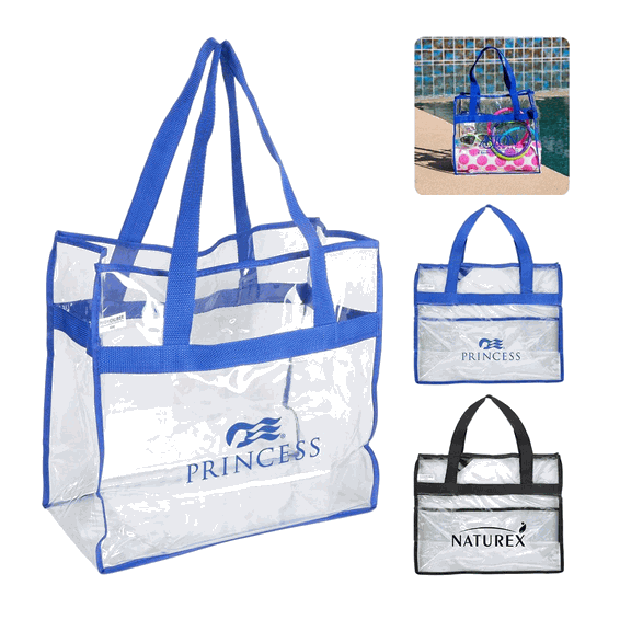Custom Promotional Clean Vinyl Tote Bag Seattle