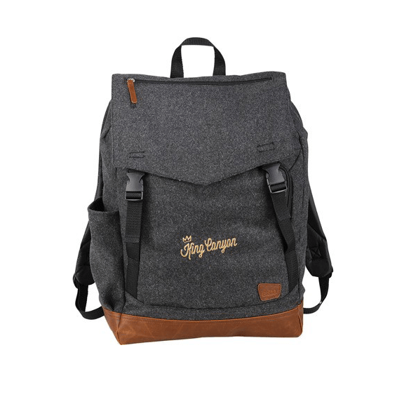 Custom Promotional Backpacks Seattle Field & Co. Campster Wool Rucksack