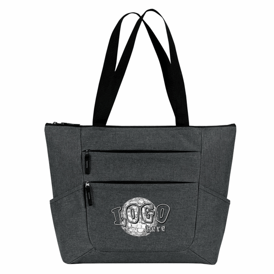 Custom Promotional Zippered Tote Bag Seattle