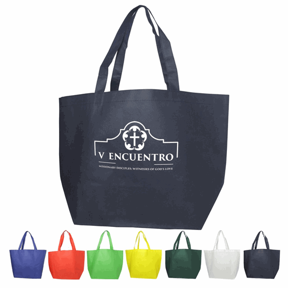 ce42f7faa9b Corporate Logo Printed Branded Tote Bags | B-BAM Seattle Custom ...