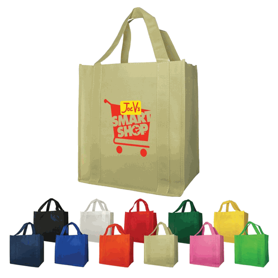 Custom Non-Woven Shopping Tote Bags Seattle