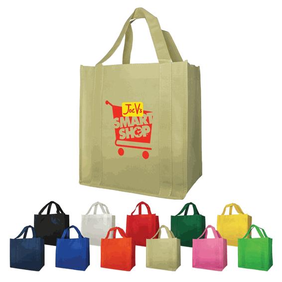 Custom Non-Woven Shopping Tote Bags Seattle 7278dc0cd2bce