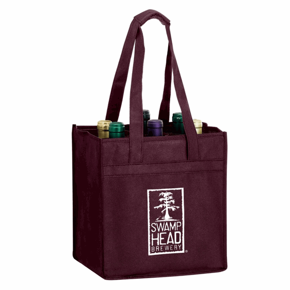 Custom Non-Woven Shopping Tote Bags Seattle Screen Print