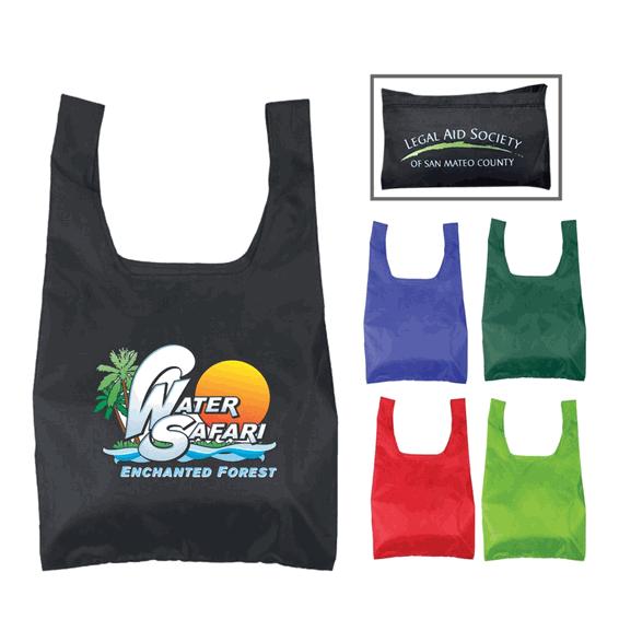 Custom Shopping Tote Bags Seattle Nylon Foldable