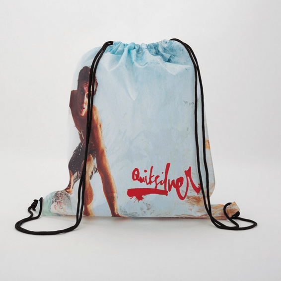 Custom Promotional Backpacks Seattle Drawstring Dye Sublimated