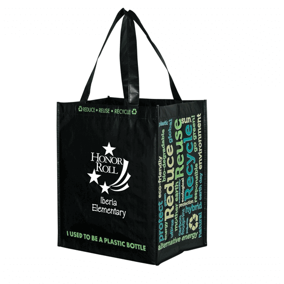 Custom Shopping Tote Bags Seattle Laminated Recycled
