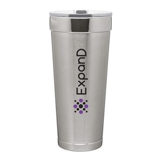 Custom Corporate Logo Promotional Double Wall Travel Mugs Seattle
