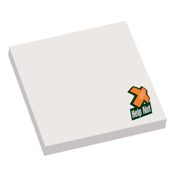 Custom Printed Corporate Logo Branded Promotional Stick Notes Pads Seattle: Adhesive