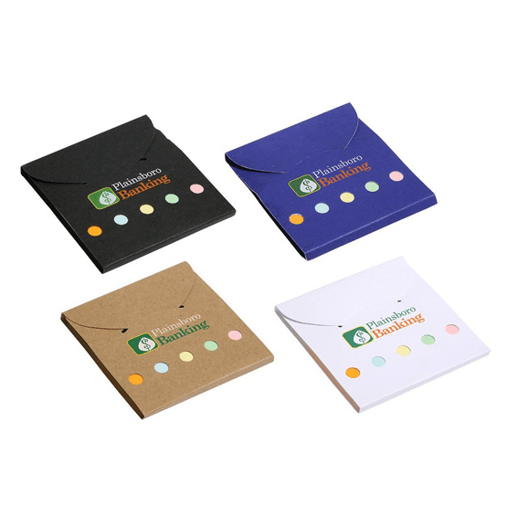 Custom Printed Corporate Logo Branded Promotional Stick Notes Pads Seattle: Wallet