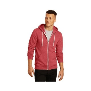 Custom Corporate Logo Hoodie Seattle: Rocky Eco-Fleece Zip