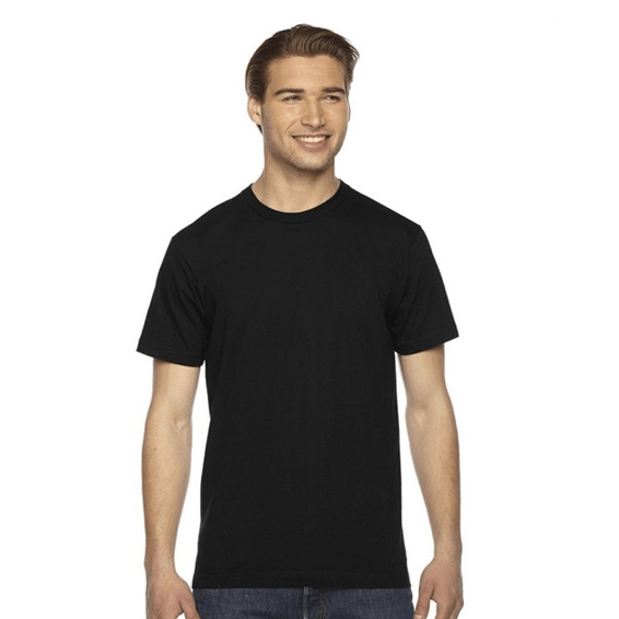 Custom Screen Printed Corporate Branded Promotional T-Shirt Seattle: American Apparel Unisex Jersey Short Sleeve