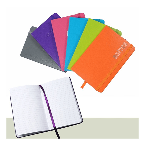 Custom Printed Promotional Corporate Logo Seattle: Brties Essential Bookbound Journal