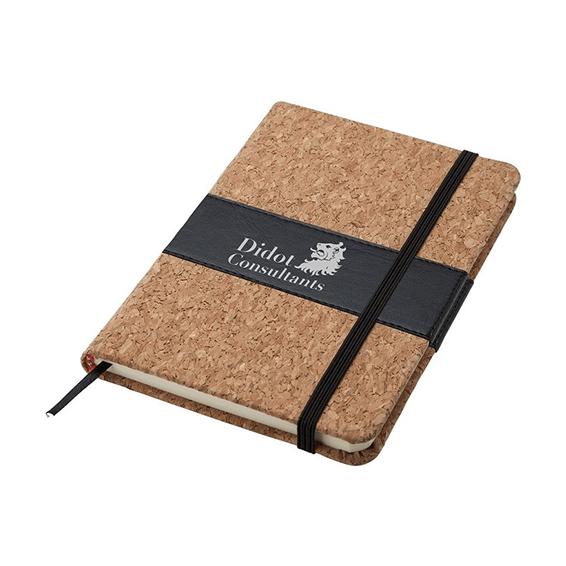 Custom Printed Logo Seattle: Cork Cover Mini Journal
