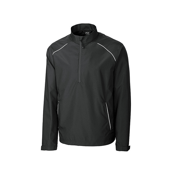 Custom Corporate Logo Promotional Jackets Seattle: Cutter & Buck WeatherTec Beacon Half-Zip Men's