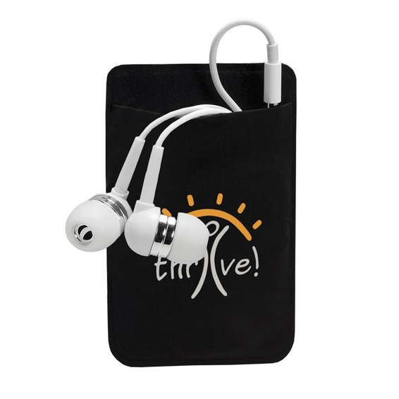 Custom Branded Corporate Logo Earbuds Seattle