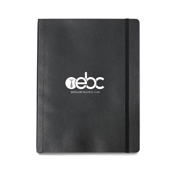 Custom Printed Branded Logo Seattle: Moleskin Soft Cover Notebook