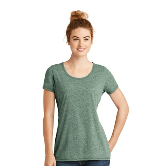 c00a75f81adb Custom Screen Printed Corporate Branded Promotional T-Shirt Seattle: New  Era Ladies' Tri
