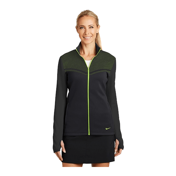 Custom Branded Corporate Logo Promotional Jackets Seattle: Nike Golf Therma-Fit Ladies