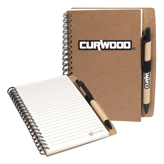 Custom Printed Promotional Corporate Logo Notebooks Seattle: Spiral
