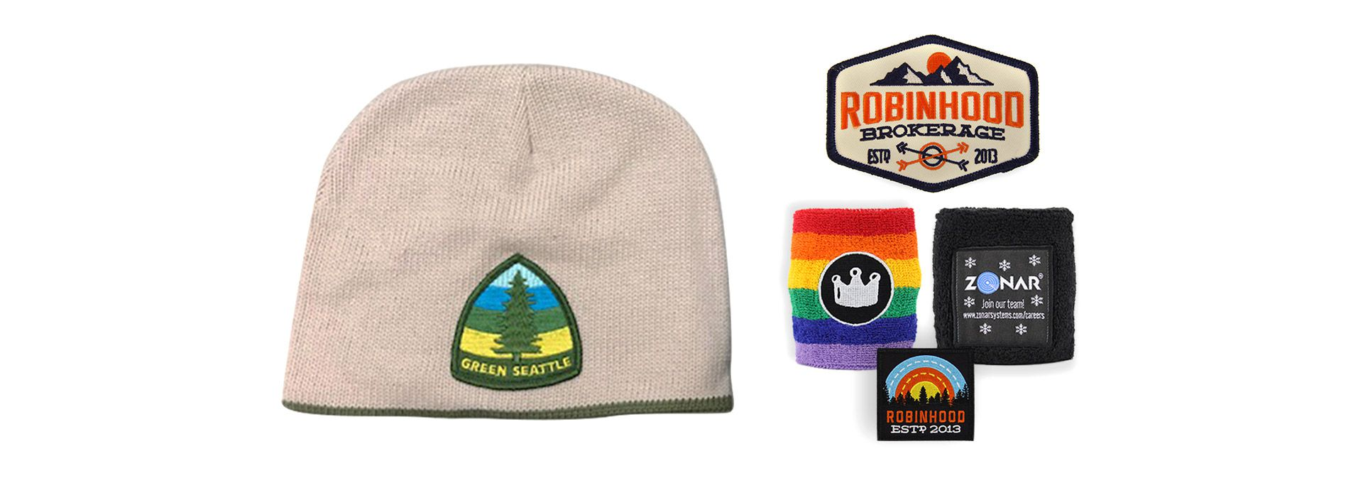 Custom Made Promotional Patches Seattle