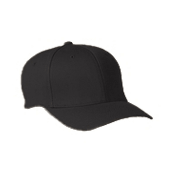Corporate Logo Hats Seattle: Flexfit Adult Wooly 6 Panel