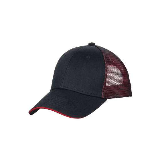 Corporate Logo Hats Seattle: Port Authority Double Mesh Sandwich