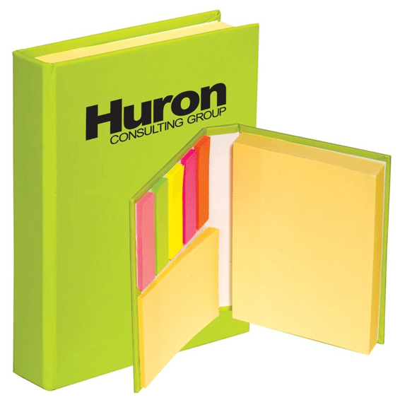 Custom Printed Corporate Logo Branded Promotional Stick Notes Pads Seattle Supplier