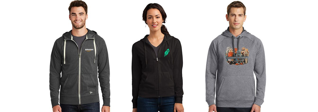 Sweatshirts Custom Printed Branded Logo Seattle Promotional Supplier