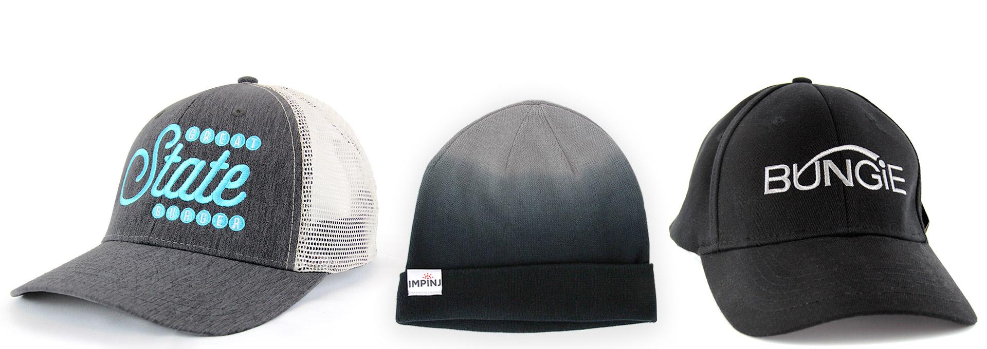 80f1239c Hats Custom Printed Seattle | B-BAM Seattle Custom Promotional ...