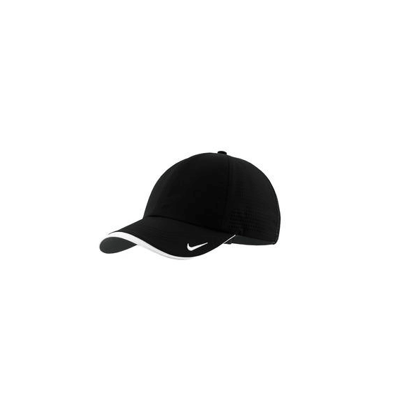 Custom Printed Hats Seattle  Nike Golf Dri-Fit Swoosh Perforated eb89f8de025e