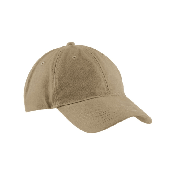 Custom Printed Hats Seattle: Port & Company Brushed Twill