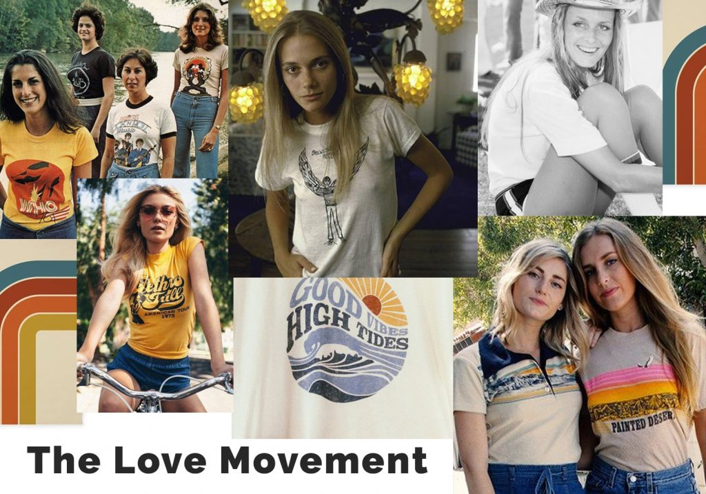 The History of T-shirts- 60's vintage