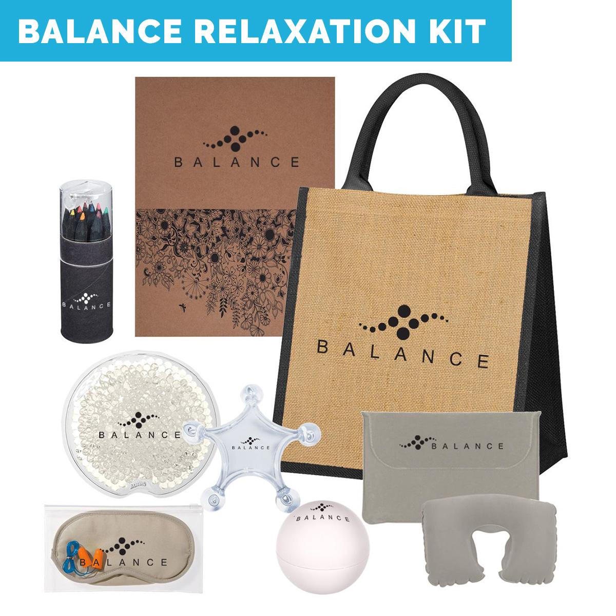 custom printed spa relaxation kit, home spa kits